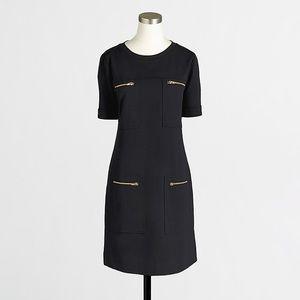 J.Crew zipper ponte dress